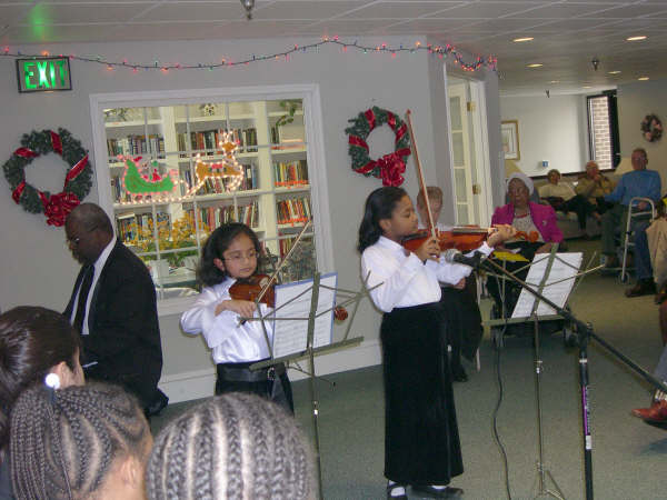 Violins Holiday Performance